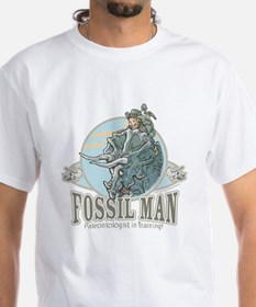 Fossil Man White T-shirt