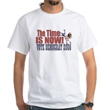 Time is Now Dem Donkey White T-shirt 3