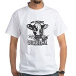 No More Cowbell White T-shirt