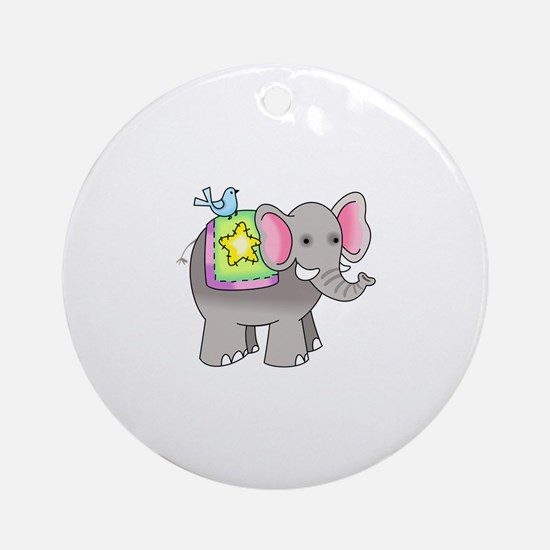 NOAHS ELEPHANT Ornament (Round)
