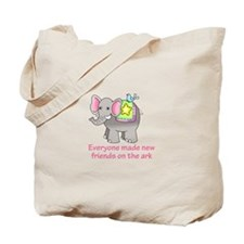 NEW FRIENDS ON THE ARK Tote Bag