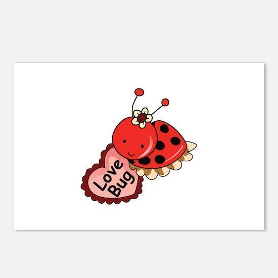 Love Bug Postcards (Package of 8)