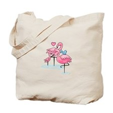 FLAMINGO FAMILY Tote Bag