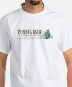 Fossil Man White T-shirt3