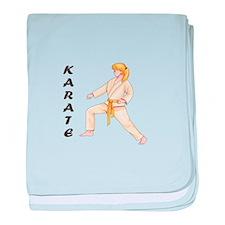 KARATE baby blanket