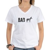 Bad ass Womens V-Neck T-shirts