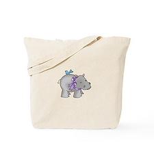 NOAHS HIPPO Tote Bag
