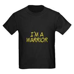 I'm A Warrior [Yellow] T