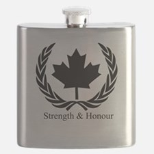 Cute Patriotism Flask