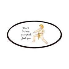 Martial Arts Girl Patches