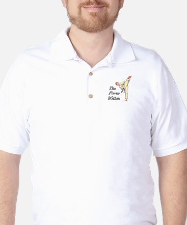 THE POWER WITHIN Golf Shirt