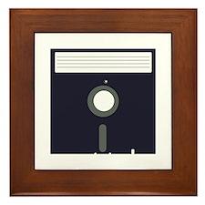Diskette Framed Tile