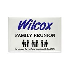 Wilcox Family Reunion Rectangle Magnet