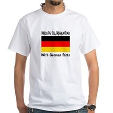 German Parts White T-shirt