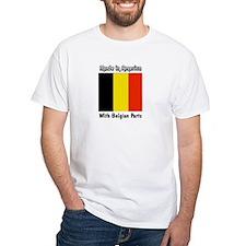 Belgian Parts Unisex White T-shirt