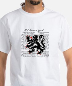 Flemish Lion Sheet Music Shirt
