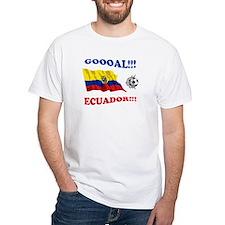 Goal Ecuador White T-shirt