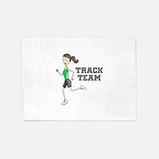 Track Team 5'x7'Area Rug