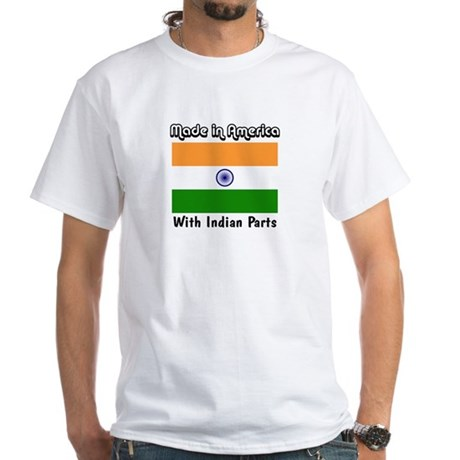 Indian Parts White T-shirt