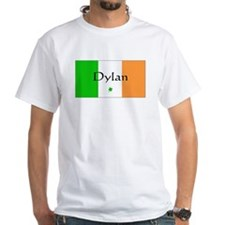 Irish/Dylan White T-shirt