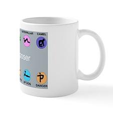 yoga, i am a poser  Mug