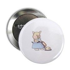 "VACUUMING PIG 2.25"" Button (10 pack)"
