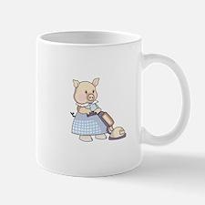 VACUUMING PIG Mugs