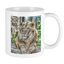 The Lion,painted Version Mugs