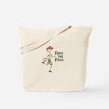 Rule The Field Tote Bag