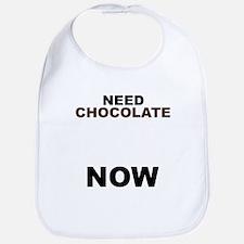 Need Chocolate NOW Bib