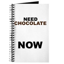 Need Chocolate NOW Journal