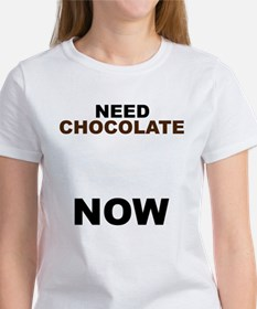 Need Chocolate NOW Tee