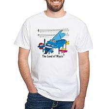 Musical Alphabet White T-shirt