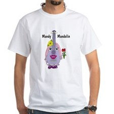 Mandy Mandolin White T-shirt