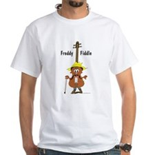 Freddy Fiddle White T-shirt