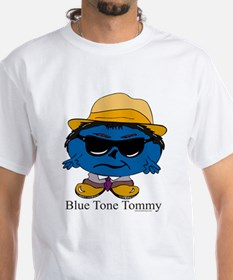 Blue Tone Tommy White T-shirt