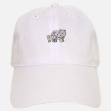 MOTHER AND BABY HIPPO Baseball Baseball Baseball Cap