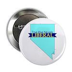 "2.25"" Button (10 pack) True Blue Nevada LIBERAL"