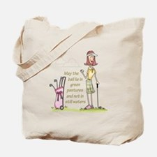 LIE IN GREEN PASTURES Tote Bag