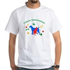 Future Veterinarian White T-shirt