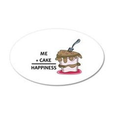 Me + Cake Happiness Wall Decal