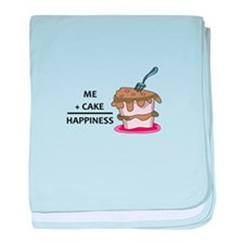 Me + Cake Happiness baby blanket
