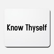 know thyself Mousepad