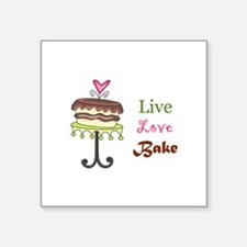 LIVE LOVE BAKE Sticker