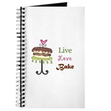 LIVE LOVE BAKE Journal