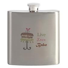 LIVE LOVE BAKE Flask