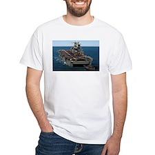 USS Peleliu LHA 5 White T-shirt