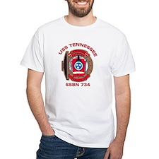 USS Tennessee SSBN 734 White T-shirt