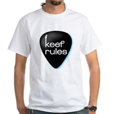 KEEF RULES Guitar Pick T-shirt