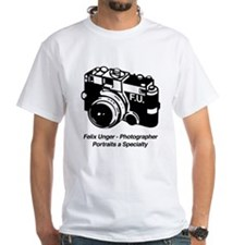 Felix Unger Photographer White T-shirt